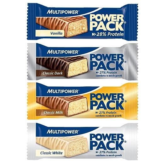 Multipower Power Pack Protein Bar Eiweissriegel a 30 x 35g) BIG BOX, MIX BOX
