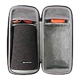 co2crea Hard Travel Case for Anker Soundcore Flare+ Plus Portable 360° Bluetooth Speaker (Color: Black Case for Anker Soundcore Flare +)