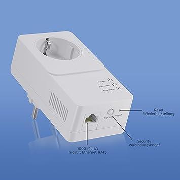 Stehle Filmscheinwerfer csl 900 mbit s powerline gigabit netzwerkadapter pt us100