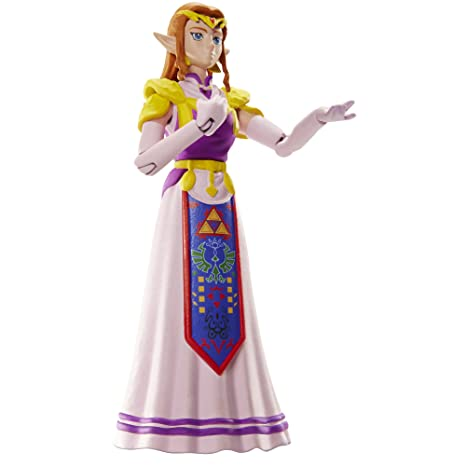 "NINTENDO World of Nintendo Princess Zelda Action Figure, 4"""