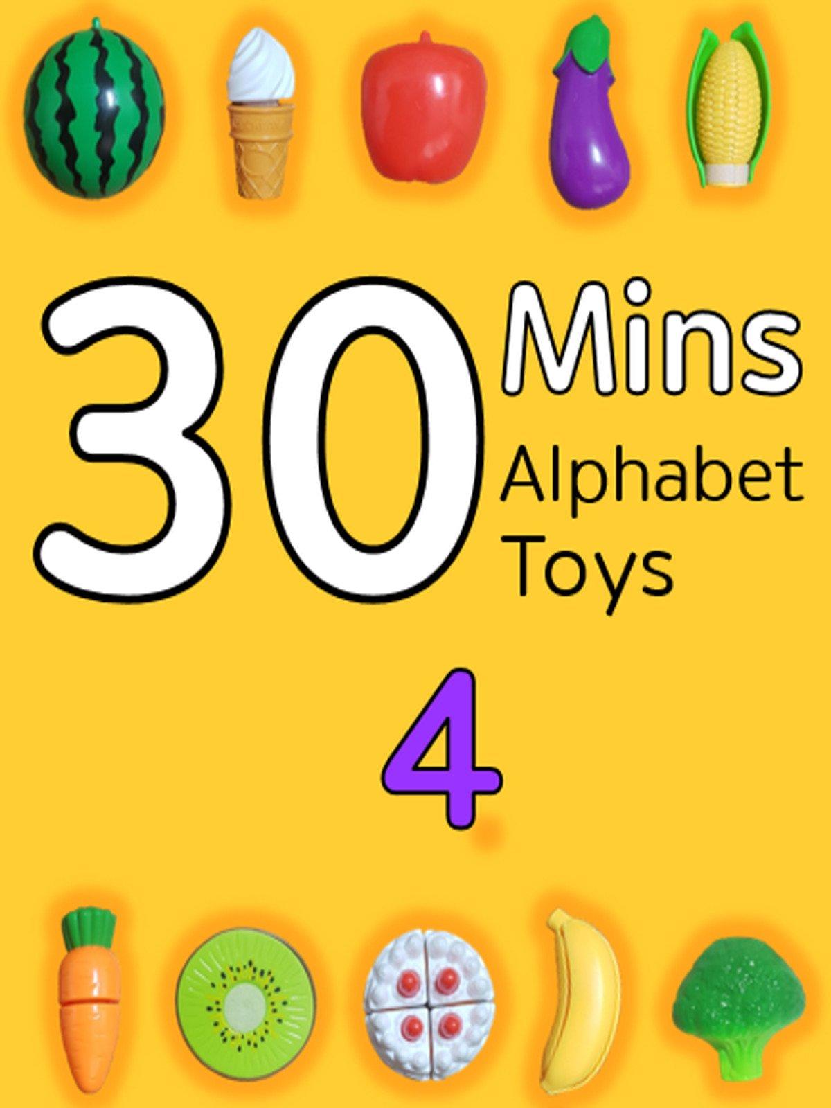 30 Minutes Alphabet Toys #4