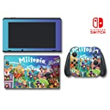 Miitopia Mii Quest Dark Lord RPG Video Game Vinyl Decal Skin Sticker Cover for Nintendo Switch Console System
