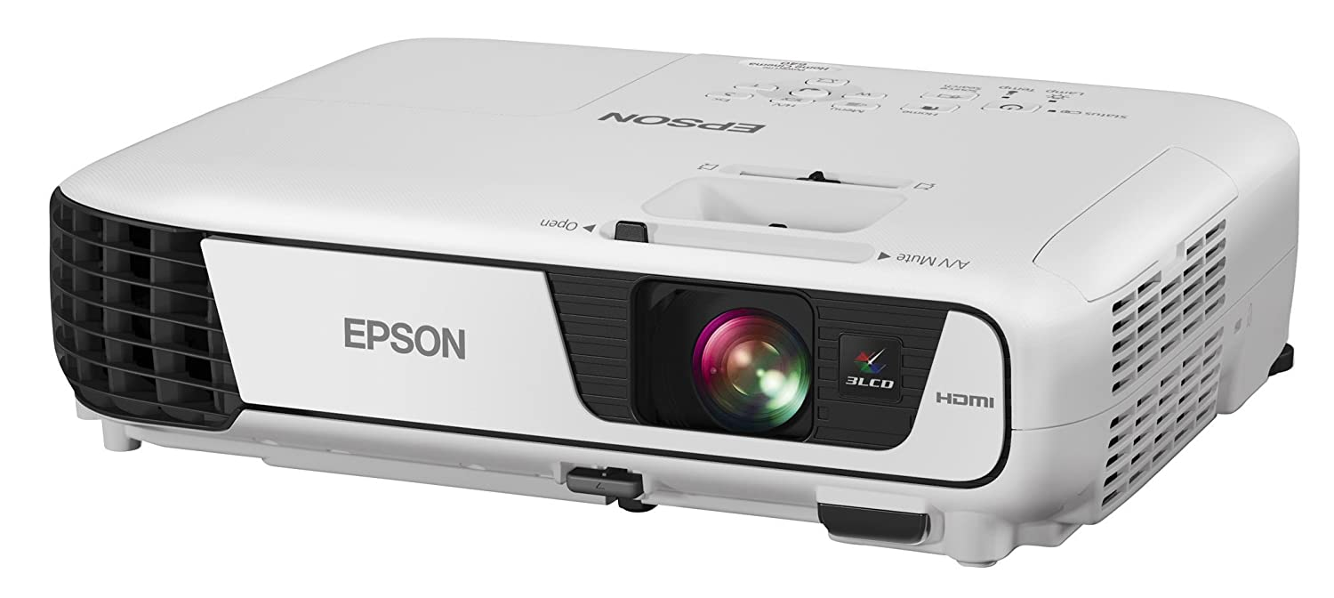 Epson Home Cinema 640, HDMI, 3200 Lumens Color and White Brightness Home Theater 3LCD Projector