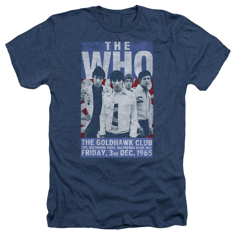 A&E Designs The Who Shirt Goldhawk Poster Heather T-shirt 0