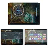 Decalrus - Protective Decal Skin Sticker for Acer Predator Helios 300 PH315-52 (15.6
