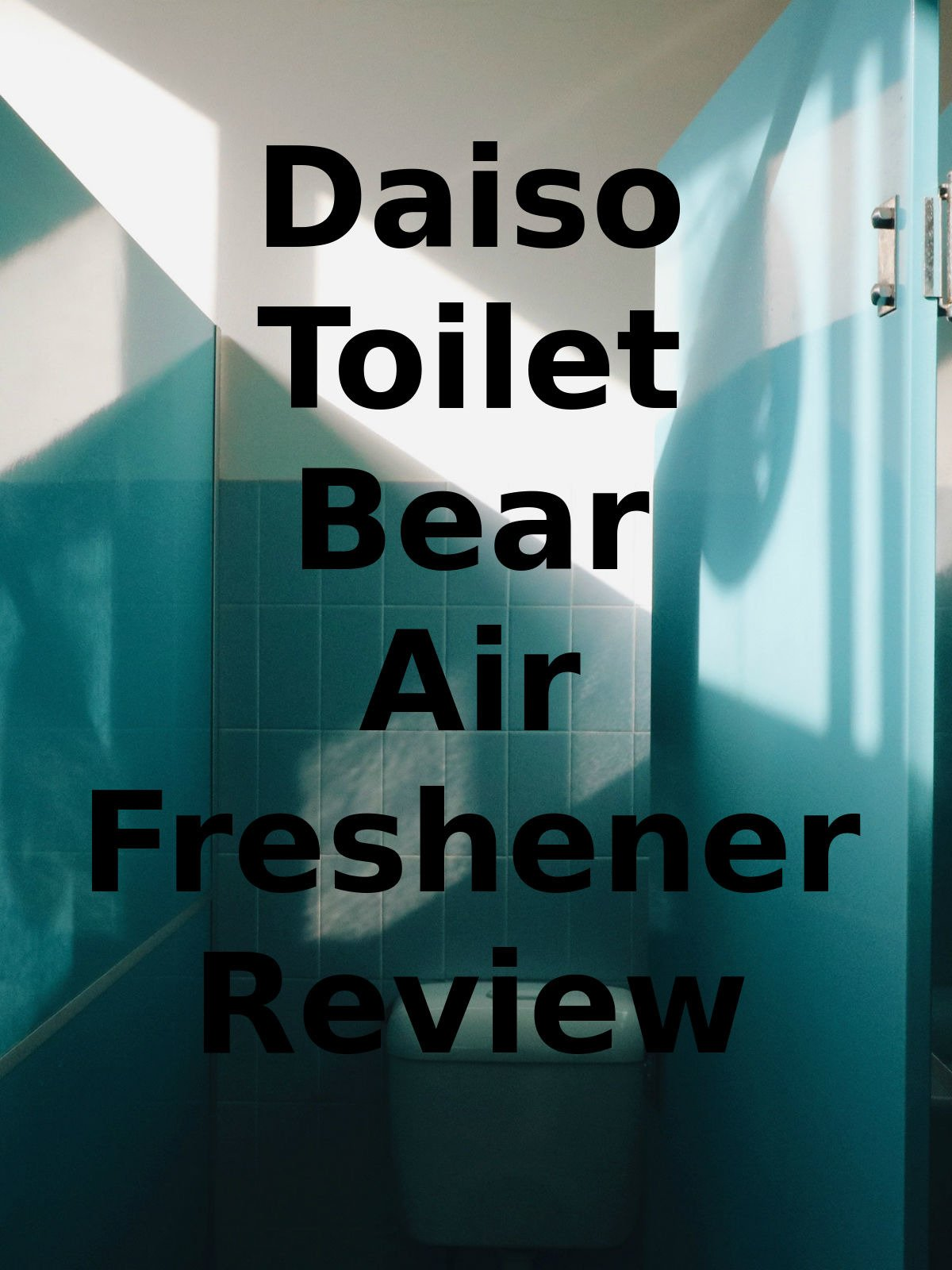 Review: Daiso Toilet Bear Air Freshener Review on Amazon Prime Instant Video UK