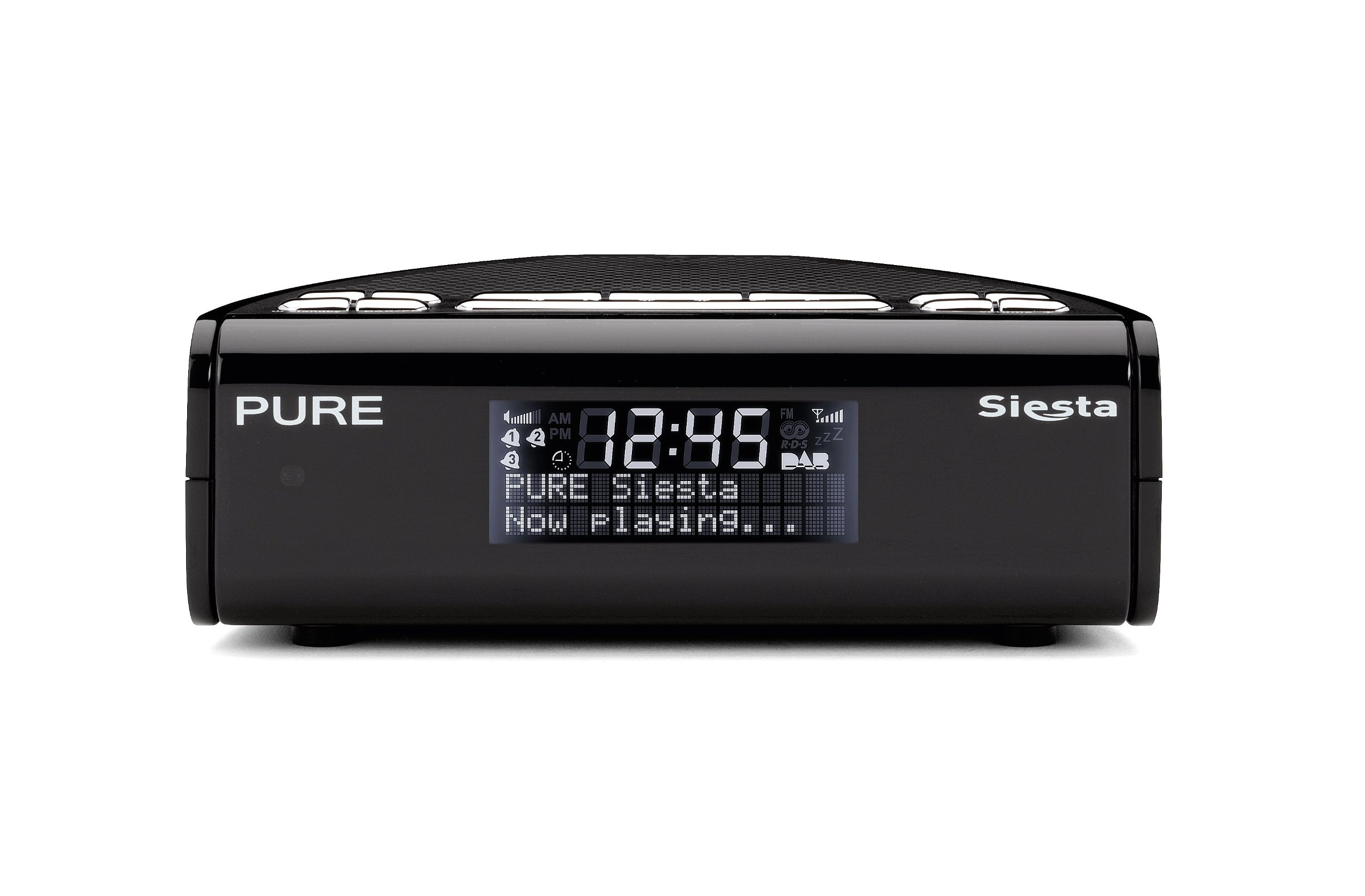 pure siesta dab fm alarm clock radio ebay. Black Bedroom Furniture Sets. Home Design Ideas