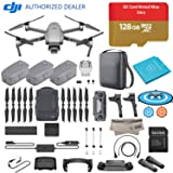 2018 DJI Mavic 2 Pro Drone Quadcopter Plus Fly More Combo Kit, Refresh Care, Comes 3 Batteries, 128GB Micro SD, Landing Gear & Pad, Prop Holder, Stick Protector, Extra Carrying Case (Tamaño: W/Refresh Care + Soft Case)