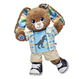 Build A Bear Workshop Chocolate Stripe Bunny Easter Gift Set, 16 inches