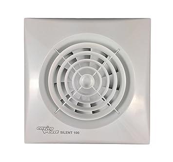 """Envirovent SIL100S /""""silent/"""" extracteur ventilateur pour salle de bain ou cuisine 4/"""" 100mm"""