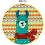 Dimensions Needlecrafts Llama, Learn a Craft Felt Applique Kit, None (Color: None)