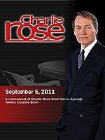 Charlie Rose - A rebroadcast of Charlie Rose Brain Series Episode Twelve: Creative Brain (September 5, 2011)