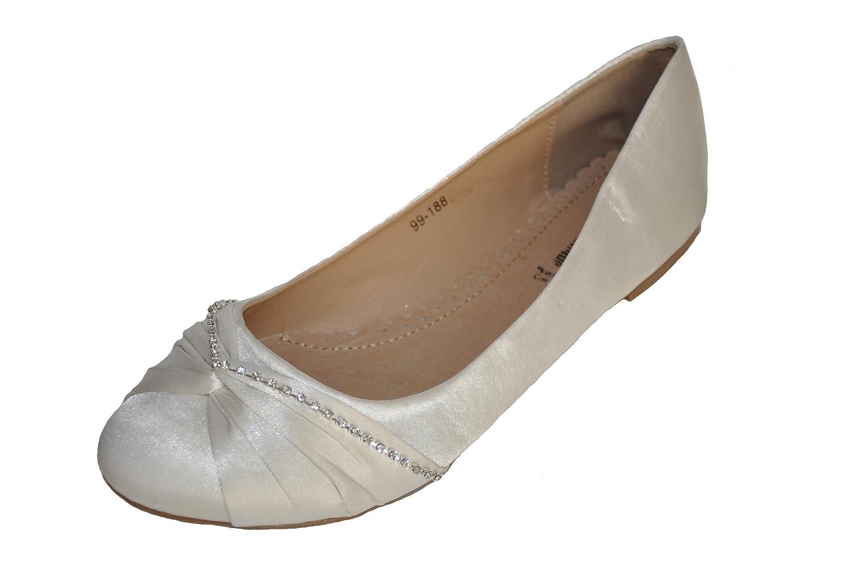 Flat Dyeable Wedding Shoes Uk