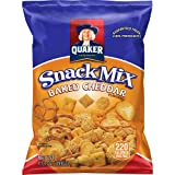 Quaker Baked Cheddar Snack Mix, 40 Count, 1.75 oz Bags