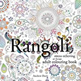 img - for Rangoli: Stress-Relieving, Art Therapy Adult Colouring Book book / textbook / text book