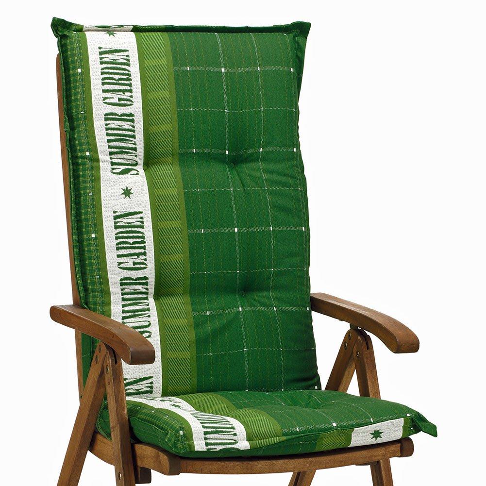 6 Gartenmöbel Auflagen für Hochlehner Sun Garden Prato 40247-200 in grün