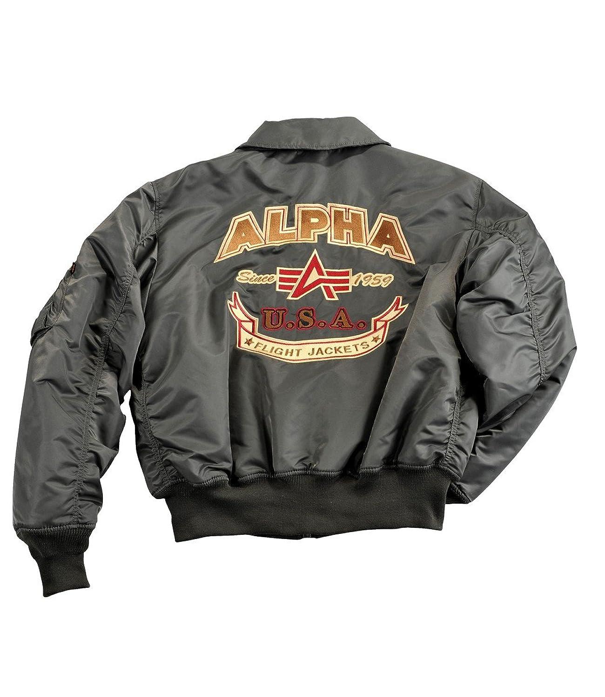 Alpha Industries Herren Winterjacke CWU Custom grau jetzt kaufen