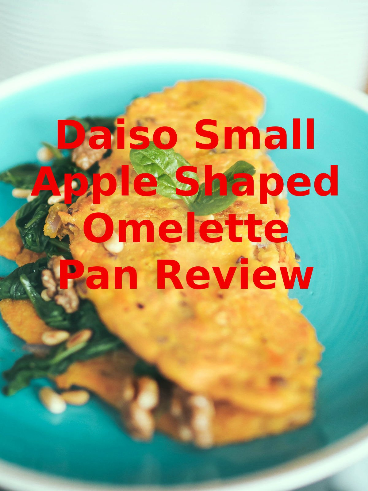 Review: Daiso Small Apple Shaped Omelette Pan Review