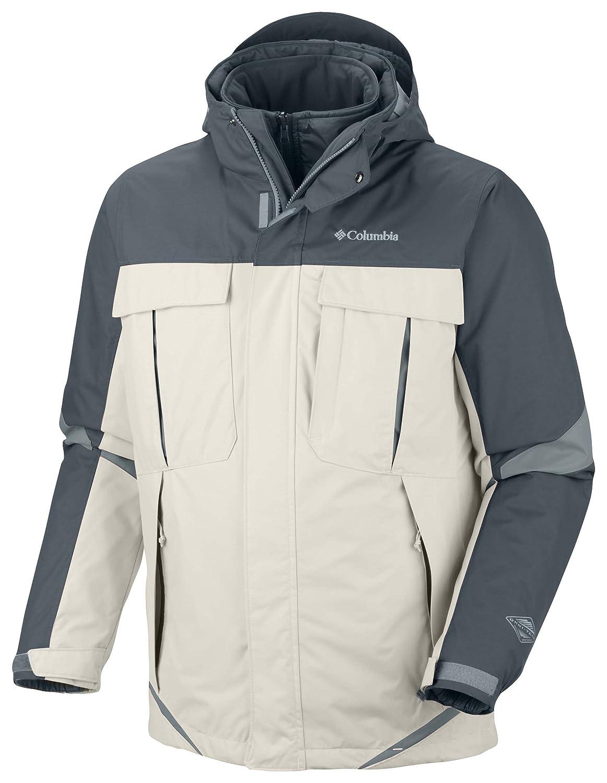 Columbia Bugaboo Interchange Men's Jacket S Mehrfarbig - Weiß