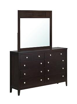 Global Furniture Lily Dresser, Antique Black