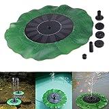 Wotryit Lawn & Garden Sprayer Pumps Floating Bird Bath Solar Power Fountain Garden Water Panel Pump Kit Pool Pond (YXZ-004) (Tamaño: YXZ-004)