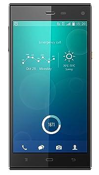 Phicomm Passion Smartphone débloqué (5 pouces Octa-Core, 32 Go, Android 4.4 LTE) Noir (import Allemagne)