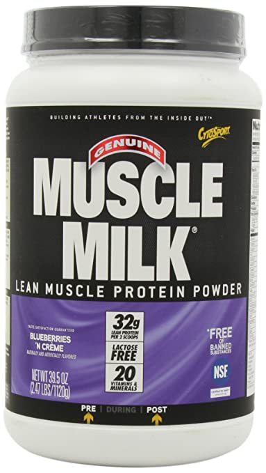 CytoSport Muscle Milk Blueberry 'n Creme, 1er Pack (1 x 1.1 kg)