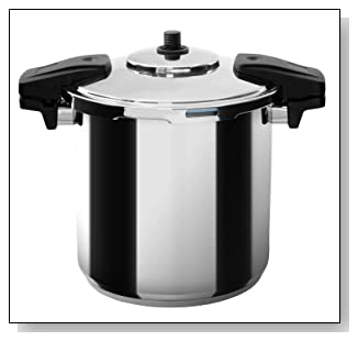 MIU France Stainless Steel Professional 8-Qt. Pressure Cooker