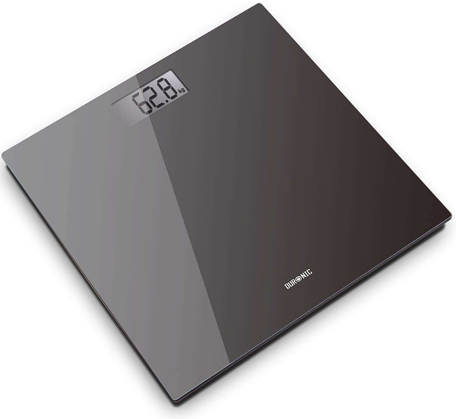 Duronic BS701 Touch Sense Electronic Black Glass Bathroom Scales