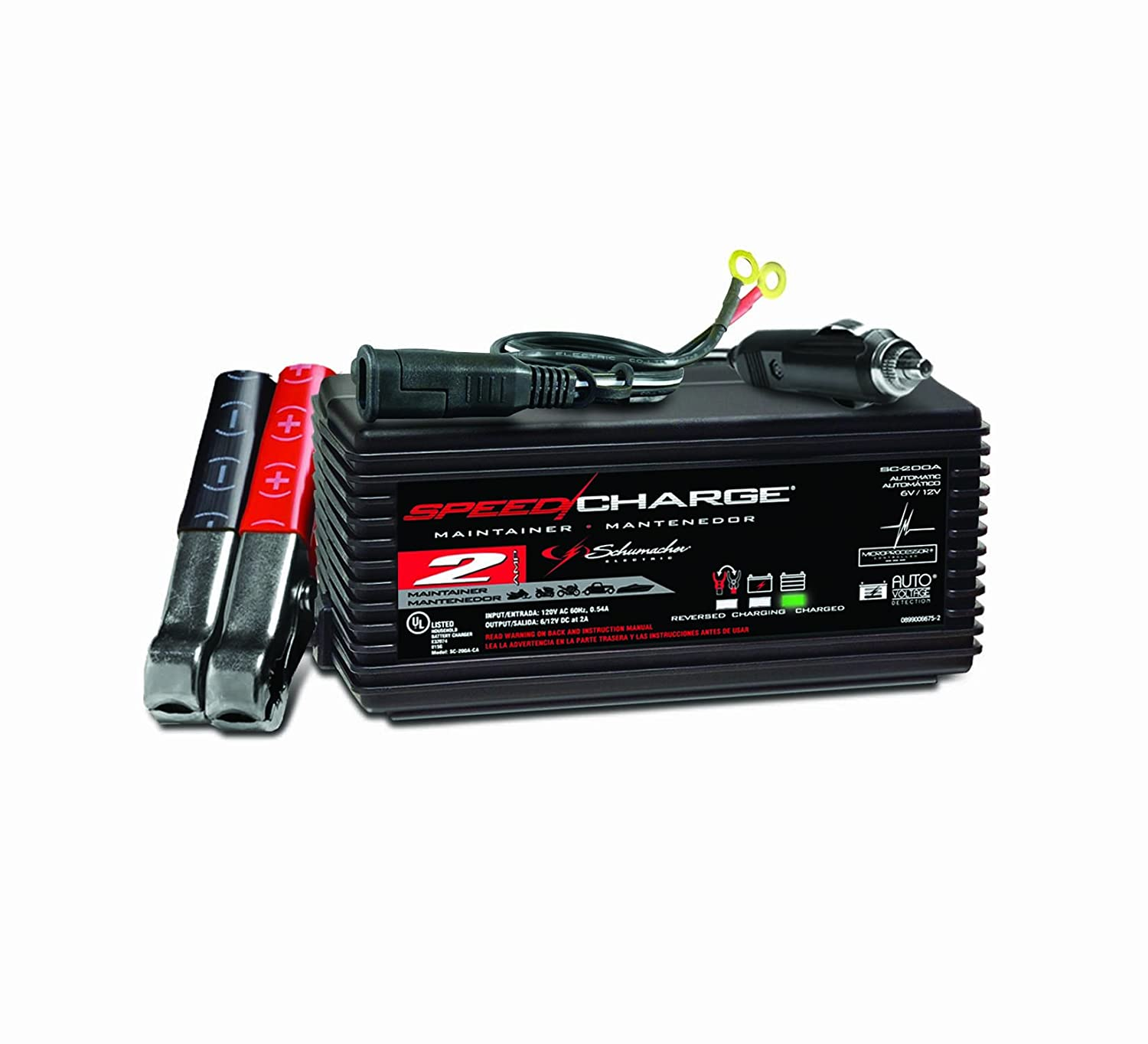 Schumacher SC-200A Speedcharge 2 Amp Battery Maintainer