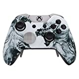 Xbox One Elite Custom Controller - Soft Touch (Artic Wolf) (Color: Artic Wolf)