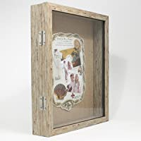 Weathered Front Hinged Shadow Box