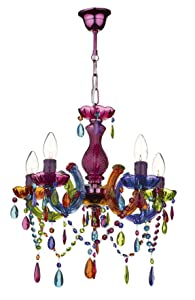 Souk 5 Light Crystal Chandelier       Customer review and more description