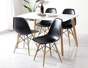Conjunto de mesa 120 + 4 sillas