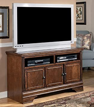 Dark Brown Medium TV Stand - Signature Design by Ashley Furniture