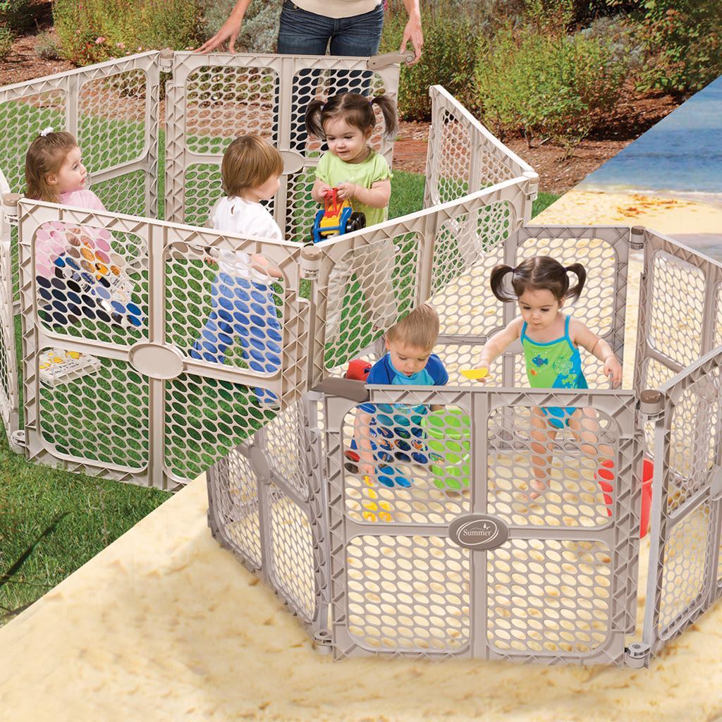 Amazon Com Summer Infant Secure Surround 6 Panel
