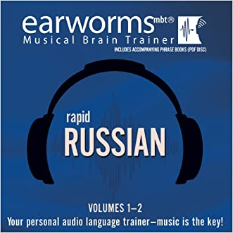 Rapid Russian, Vols. 1 & 2 (Earworms Musical Brain Trainer)