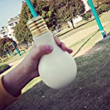 Jujunx Creative Leak-proof Bulb Water Bottle Brief Cute Milk Juice Light Bulbs Cup (500ML)