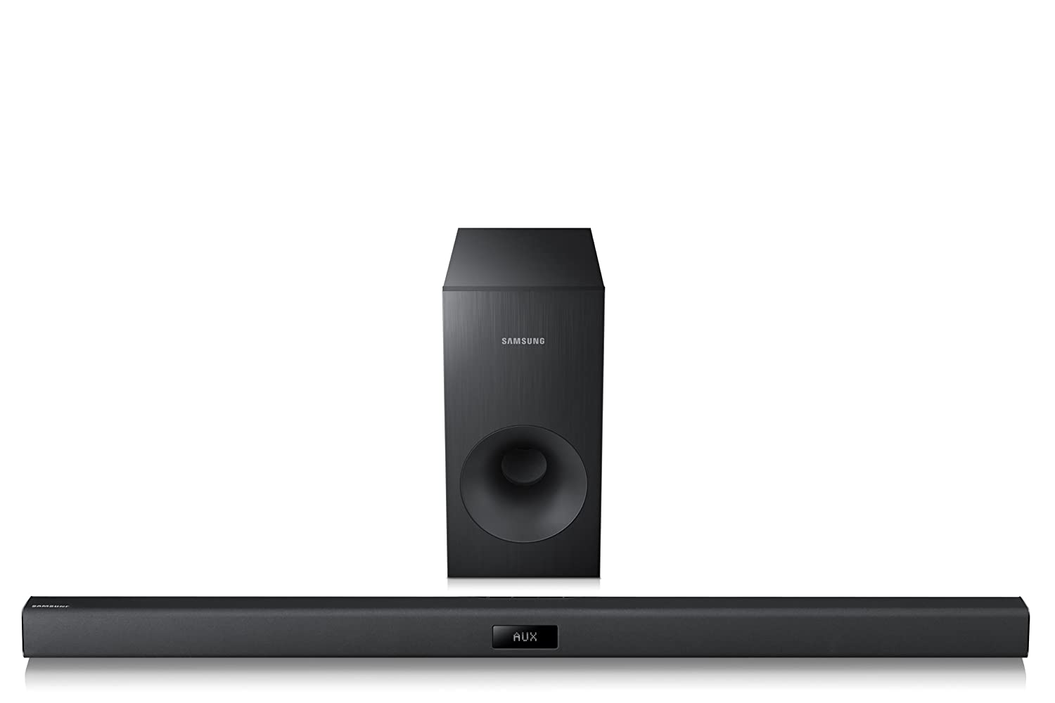 Samsung HW-F355 2.1 Channel 120 Watt Wired Audio Soundbar (2014 Model)