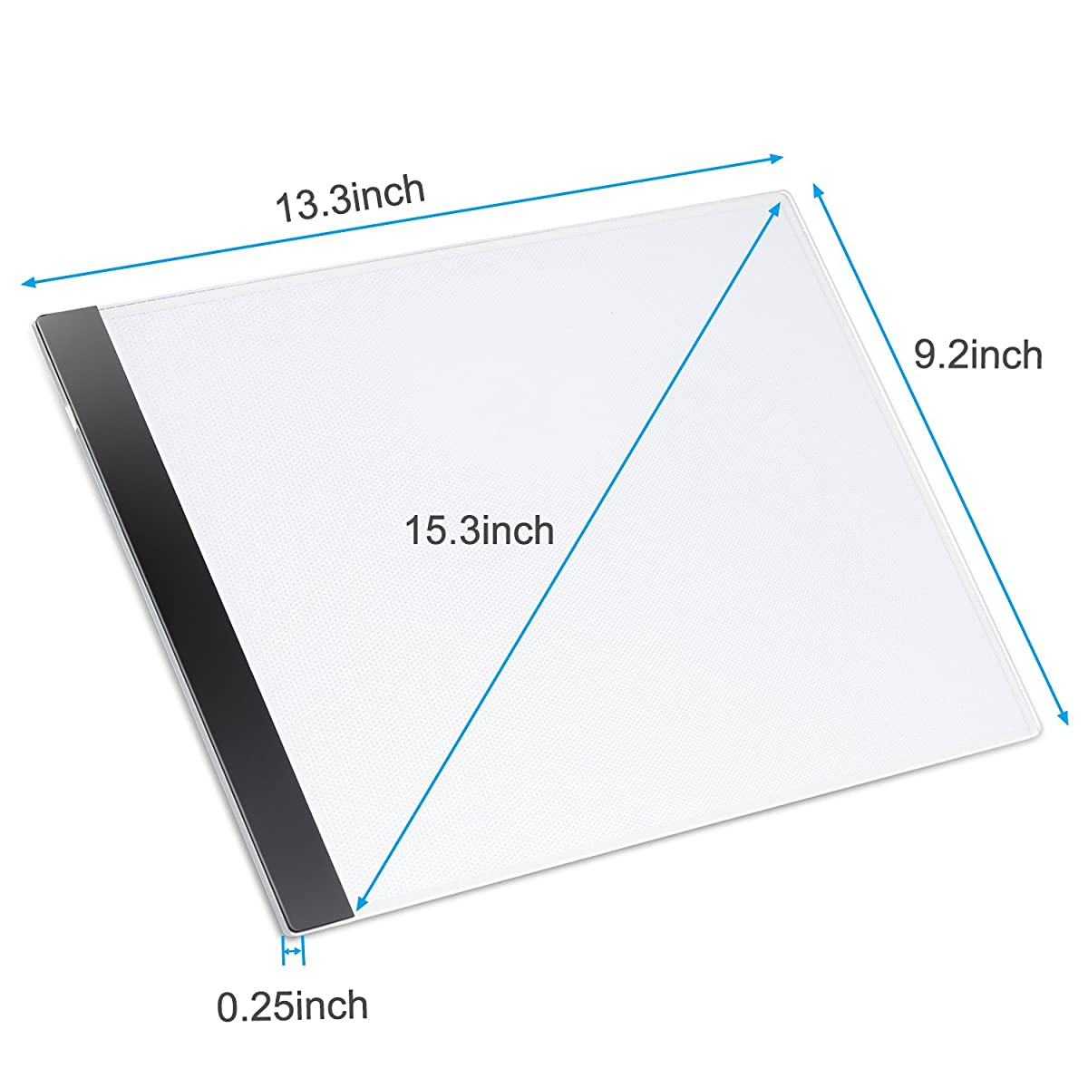 Kohree A4 LED Tracing Light Box Tracer Portable Artists Drawing Board Copyboard USB Power Cable Artcraft Tracing Light Pad for Sketching Animation Designing Stenciling X-ray Viewing