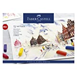 Faber-Castel FC128272 Creative Studio Soft Pastel Crayons (72 Pack), Assorted (Color: Assorted, Tamaño: Set of 72)