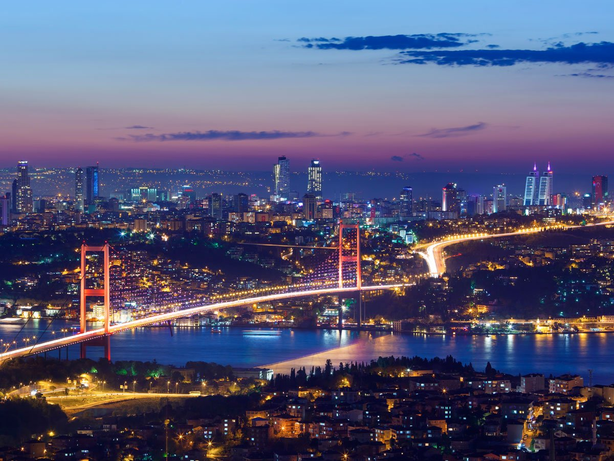 Vliestapete Istanbul bei Nacht VT374 Größe360x270cm, Fototapete, Vlies Tapete, High Quality, PREMIUM Bildtapete, Nacht Skyline Türkei   Rezension