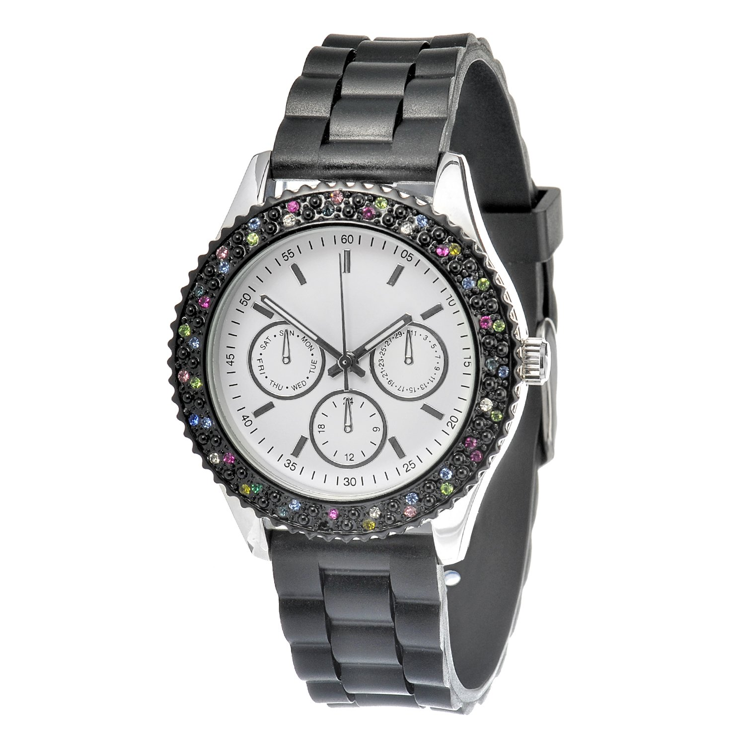 s watches fmd by fossil black band analog s
