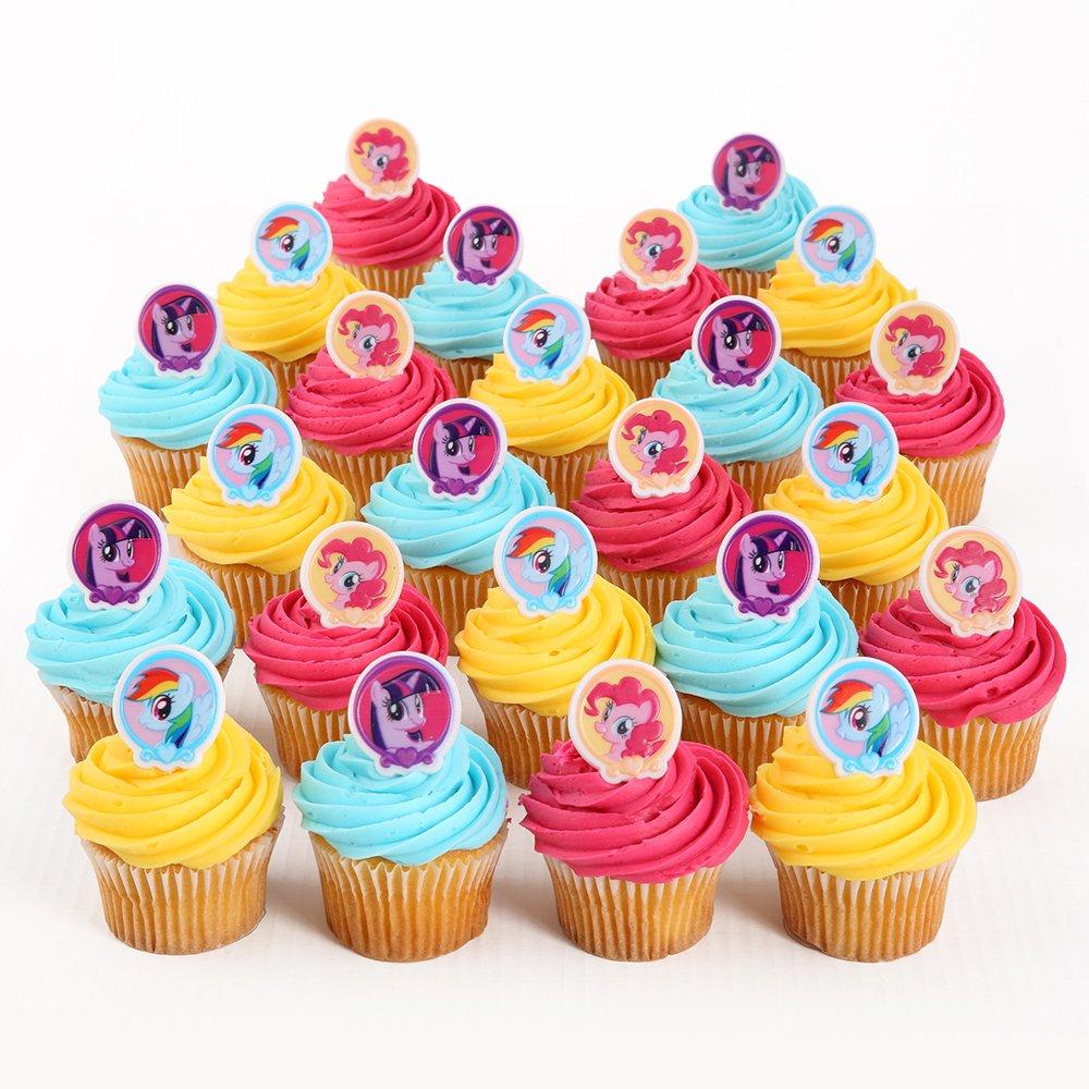 My Little Pony Cupcake Decorations
