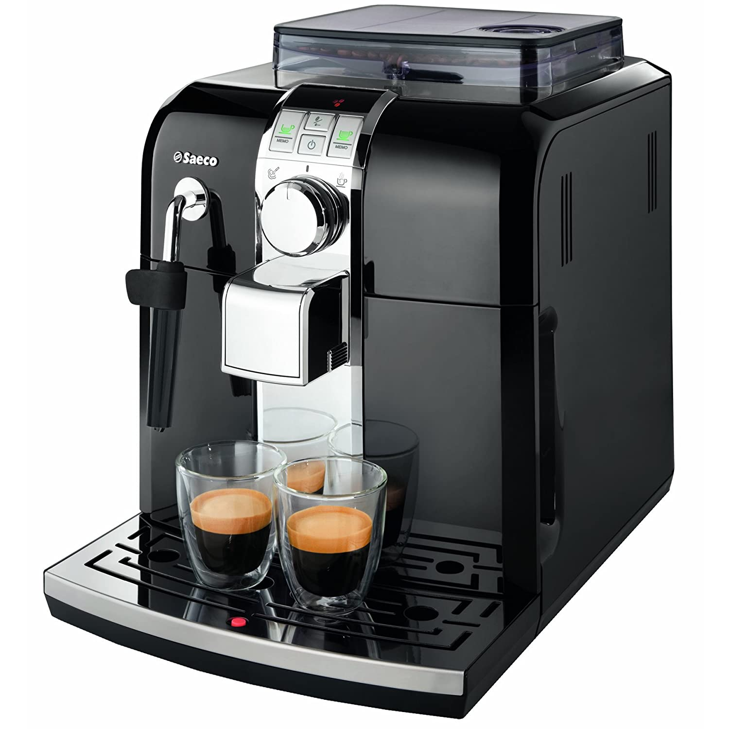 ... Syntia Focus Fully Automatic Espresso Amp Coffee Machine Black | eBay