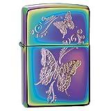 Zippo Butterflies Spectrum Pocket Lighter (Color: Spectrum)