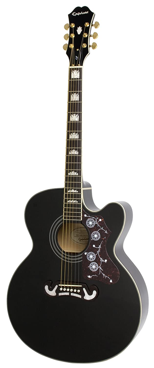Epiphone EJ-200CE Best Acoustic-Electric Guitar Review