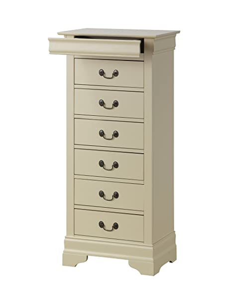 Glory Furniture G3175-LC Lingerie Chest, Beige