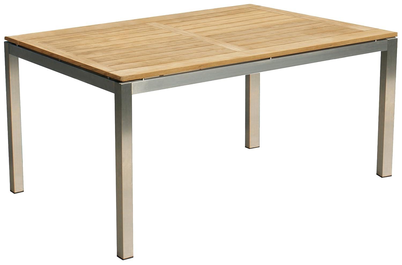 Nexus Edelstahl Tisch 160×90 cm Gartentisch Gartenmöbel Esstisch online bestellen