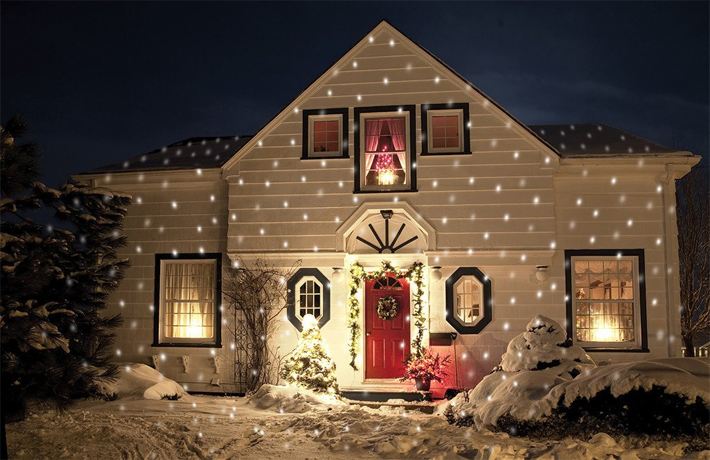 Star shower lights shop solutions lila 39 s finds - Snowflake exterior christmas lights ...